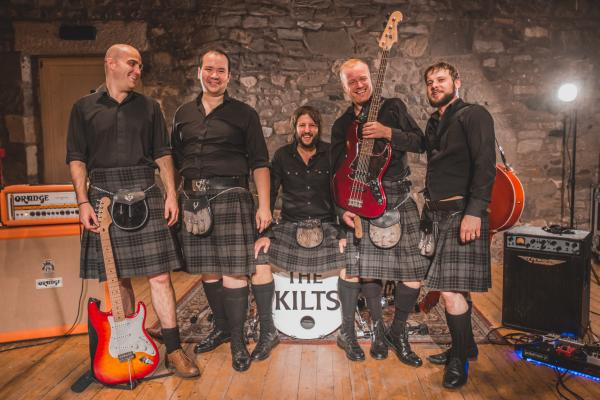 The Kilts Wedding Entertainers